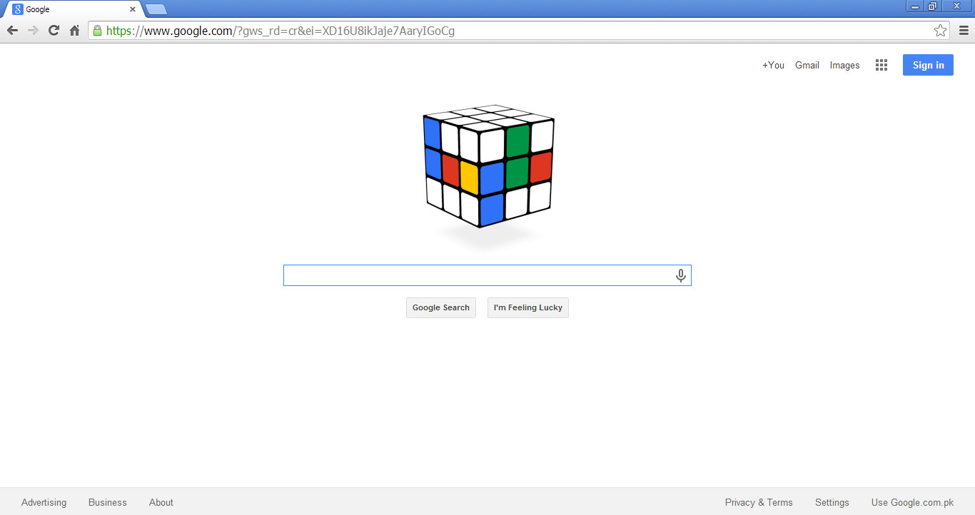 40th birthday of the Rubik's Cube
