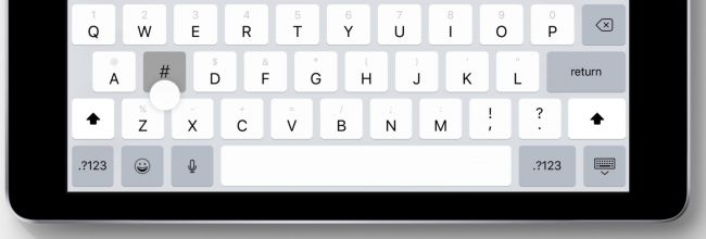 You won't have to switch to the second keyboard layer any more